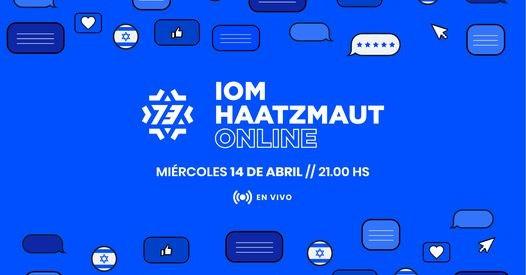 Hoy Celebración de Iom Haatzmaut 73